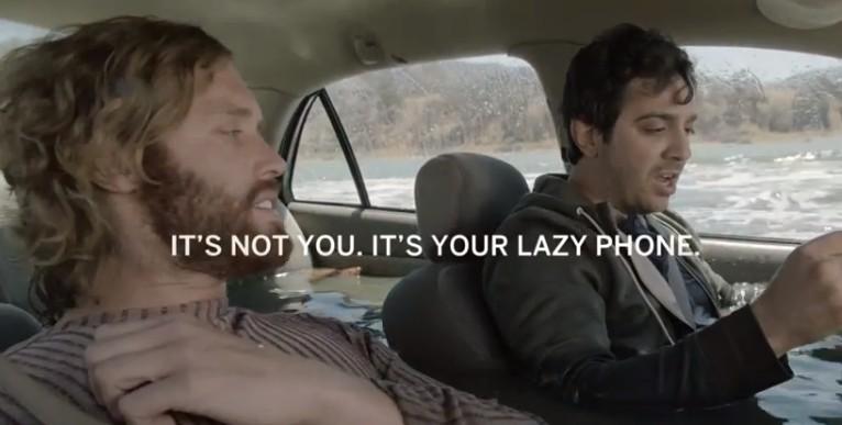 모토로라(Motorola) 스마트폰 Moto X의 Lazy Phone TVC 캠페인