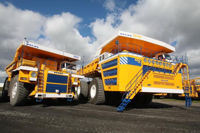 세계에서 가장 거대한 덤프트럭 - 벨라즈2