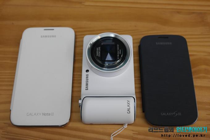 갤럭시 카메라, 갤럭시노트2, 갤럭시S3