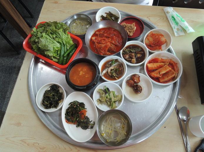 지리산맛집 덕산기사식당