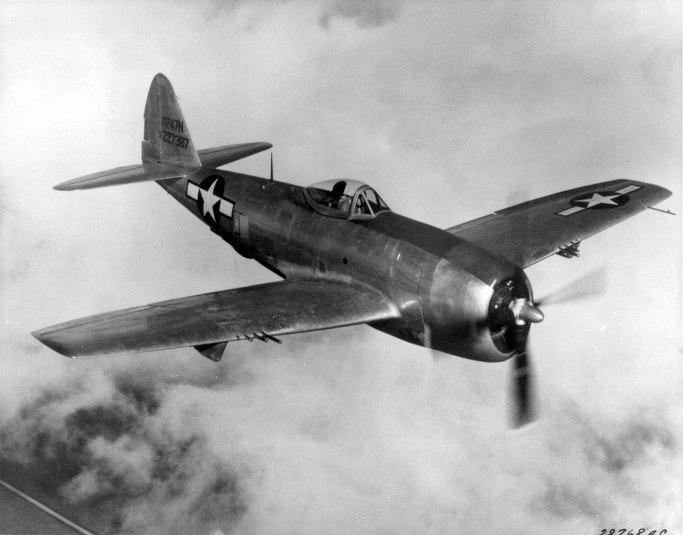 프로펠러 전폭기의 마지막을 화려하게 장식한 A-1 스카이레이더 P-47
