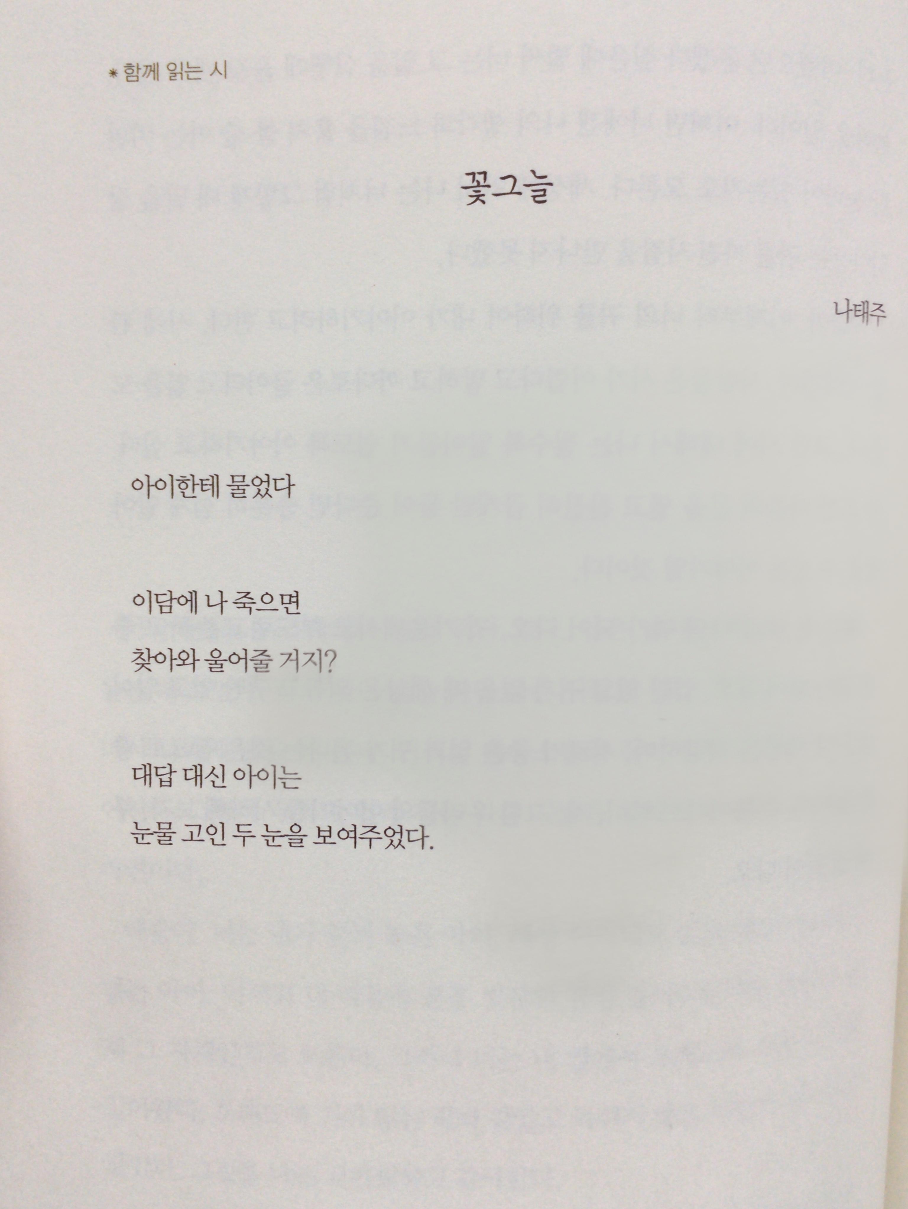 나태주 책