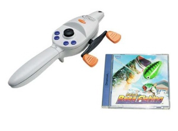 Dreamcast Fishing Controller