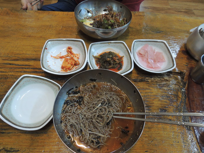 평창먹거리 메밀국수맛집 진미식당