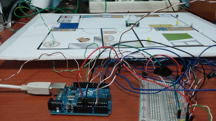 Arduino + Android를 이용한 Home-Automation/Security