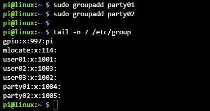 리눅스 그룹 만들기 groupadd 명령어