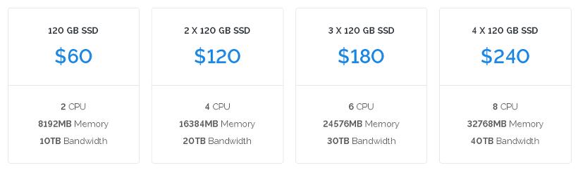 Vultr Dedicated Server Price