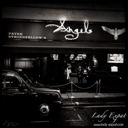 Soho, London. Lady Expat.