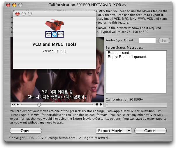 VCD and MPEG Tools 이미지