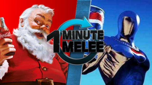 Santa Claus Vs. Pepsiman