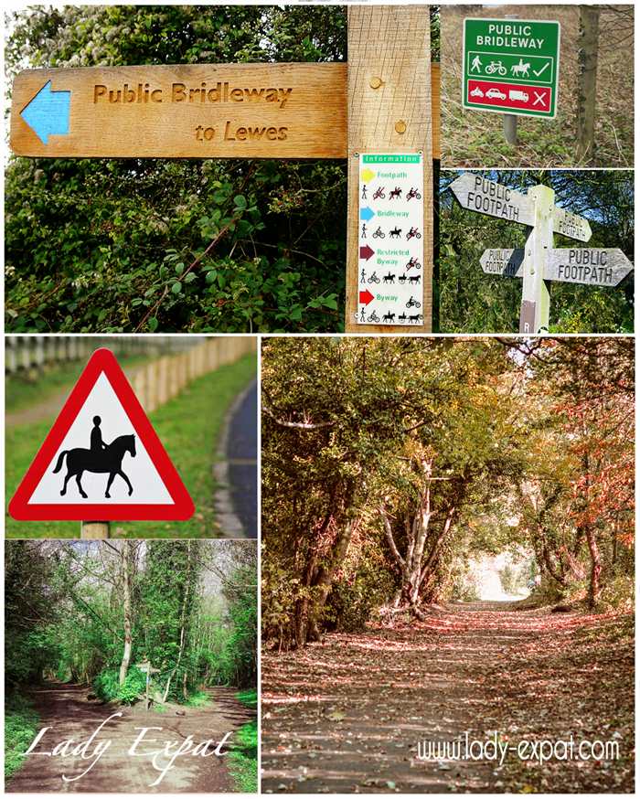 Public Bridleways & Public Footpaths
