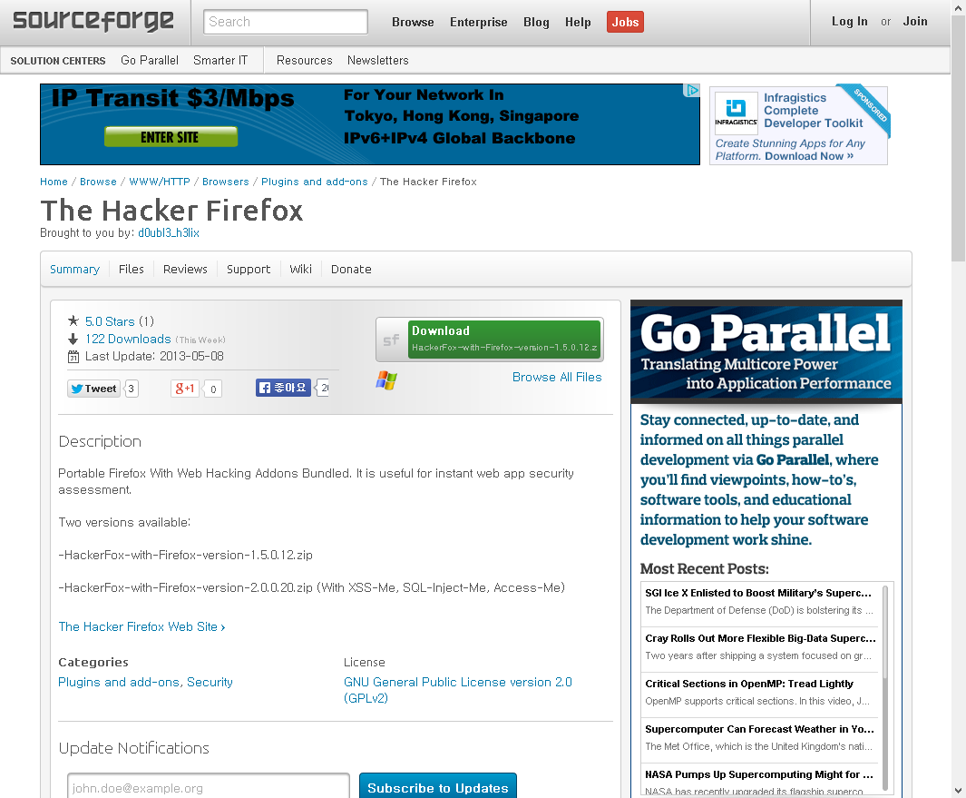 Firefox Download Security