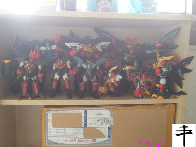 Gaogaigar Series Collection-close up