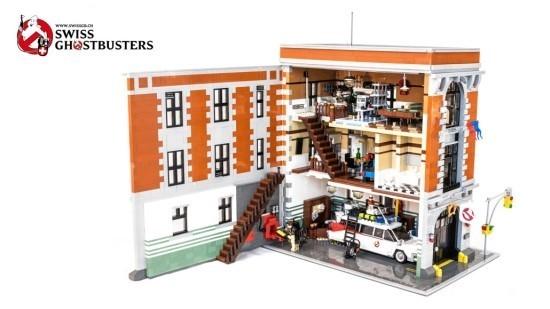 같이 살자 레고 고스트버스터즈 Ghostbusters Headquarter V2 Lego 해외창작