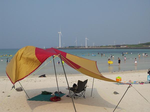 월정리해변,