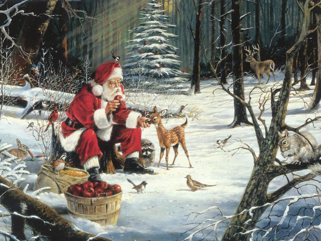 Christmas Wallpaper - Santa Clause