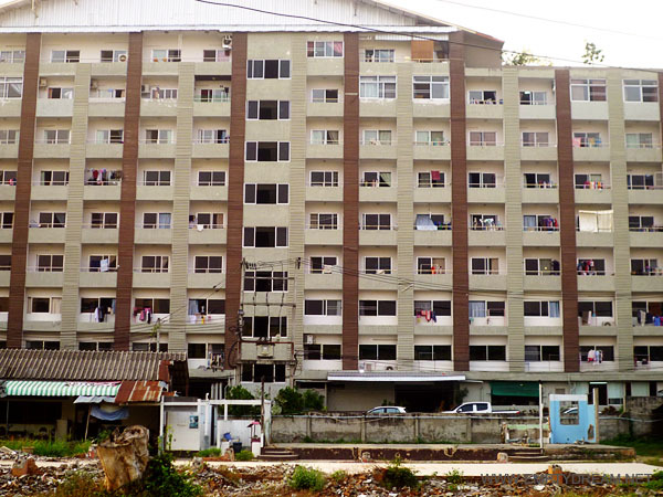 태국의 흔한 서민용 아파트