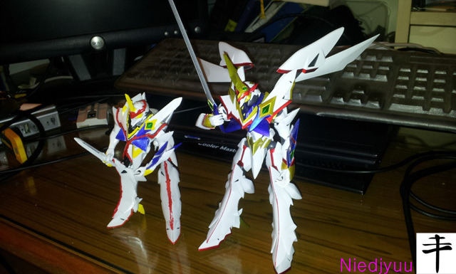 Kaiser fire right_megahouse vs bandai