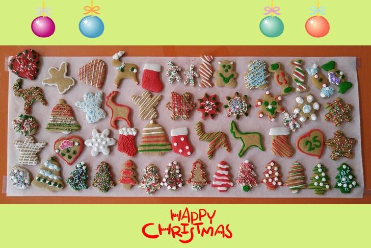 미국 캐나다 크리스마스 문화 진저브레드 쿠키