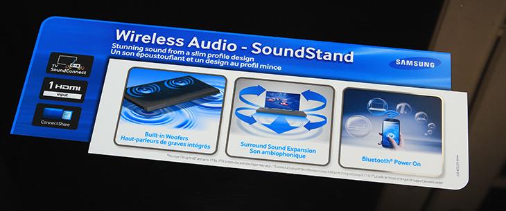 사운드 스탠드, 사운드 스탠드 HW-H600, 사운드 스탠드 HW-H600 후기, 사운드 스탠드 HW-H600 사용기, 사운드바, 스마트TV 사운드, 블루투스 스피커, USB 스피커, It, 사운드 스탠드 HW-H600 후기 사용기 편 입니다. 저는 삼성 스마트TV 시리즈7 UN46F7150AF를 쓰고 있는데요. 스피커는 물론 기본적으로는 후면에 하나 내장되어 있습니다. 그런데 아주 웅장한 소리를 듣기에는 약간 부족함이 있죠. 이럴때 생각해볼 수 있는 것이 사운드 스탠드 HW-H600를 사용하는 것 입니다. 바닥에 평평한 형태로 장착하는 형태이므로 공간을 더 쓰지 않는다는 장점이 있습니다. 그런데 스탠드 형태의 TV에서 사용되는게 좋겠네요. 벽걸이 형태에 사용하기에는 모양이 좀 애매하니까요.