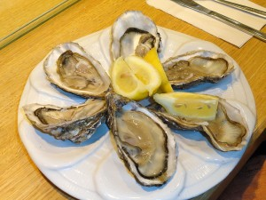 Norovirus infection Oysters