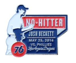 Josh Beckett No-Hitter Commemorative Pin ++