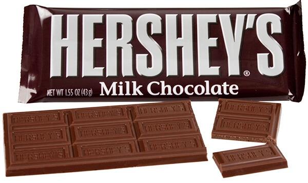 허쉬 밀크 초콜릿
