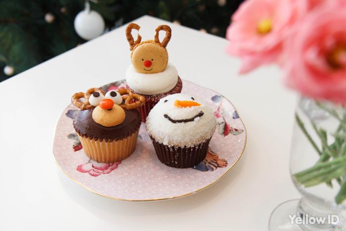 크리스마스 한정판 컵케익