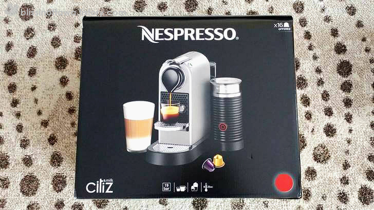 Nespresso CitiZ & Milk 입니다