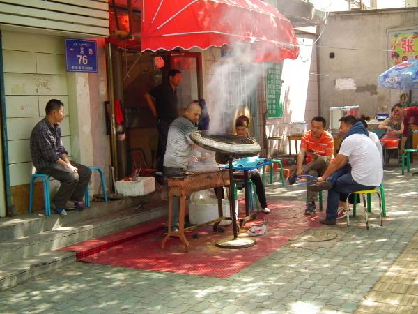 kebab in uyghur