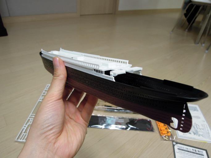 아카데미의 MCP 모델 타이타닉 1/700 프라모델 조립기10