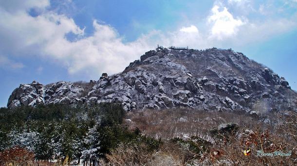 금정산(金井山) 고당봉 겨울전경