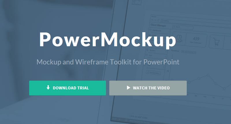 PowerMockUp 파워 목업 ( MS Power Point Plugins)