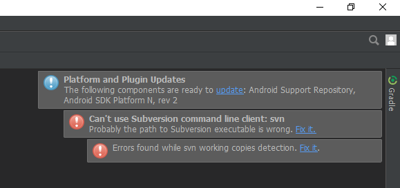 Android studio build -Gradle- :: Catch bug if you can