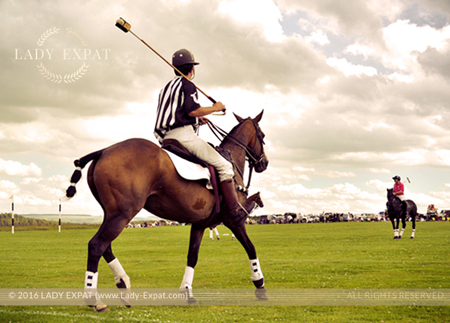 Polo Umpire. Lady Expat.