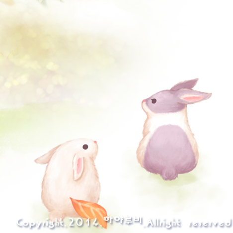 토끼 일러스트 /rabbit illustration/ウサギの絵
