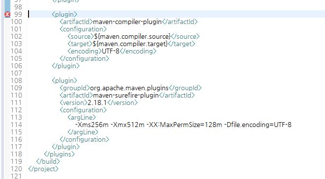 eclipse plugin execution not covered by lifecycle configuration maven-antrun-plugin