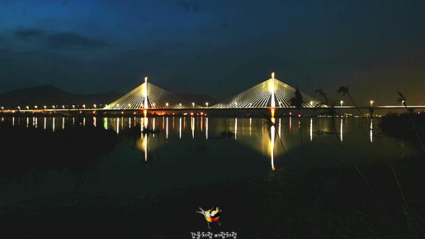 대동화명대교(大東華明大橋) 야경(夜景)