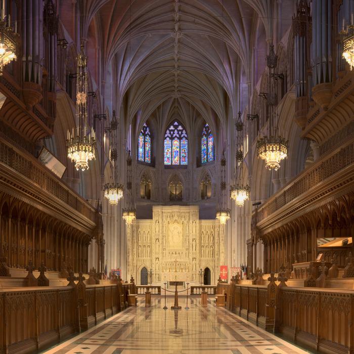워싱턴 국립 대성당 Washington National Cathedral 내부