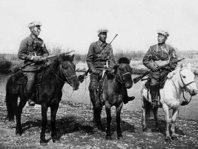11. 2차세계대전 몽골기병