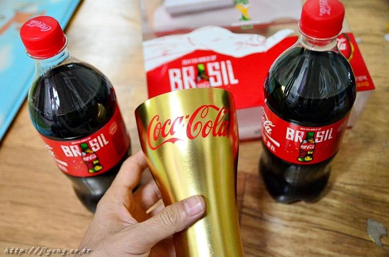 코카콜라 브라질 컵,브라질 월드컵 코카콜라 777mL 컵,코카콜라 골드컵,코카콜라 한정판,트로피컵