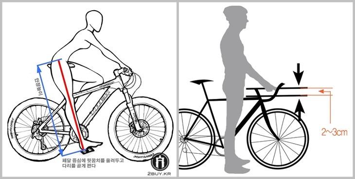 자전거 안장높이, 인터넷 자전거 구입,