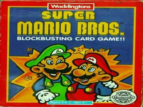 Super Mario Bros. Card Game