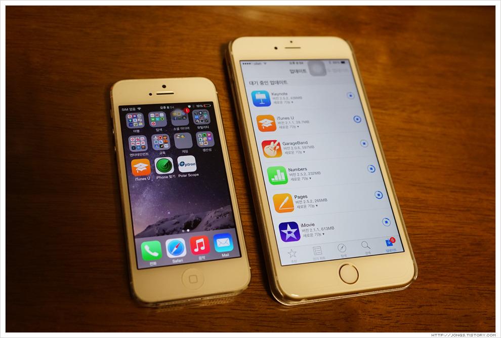 아이폰6 플러스(iPhone6 Plus) 초간단 오픈기