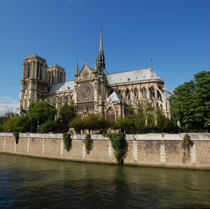 노트르담 대성당 Notre Dame Cathedral 외부