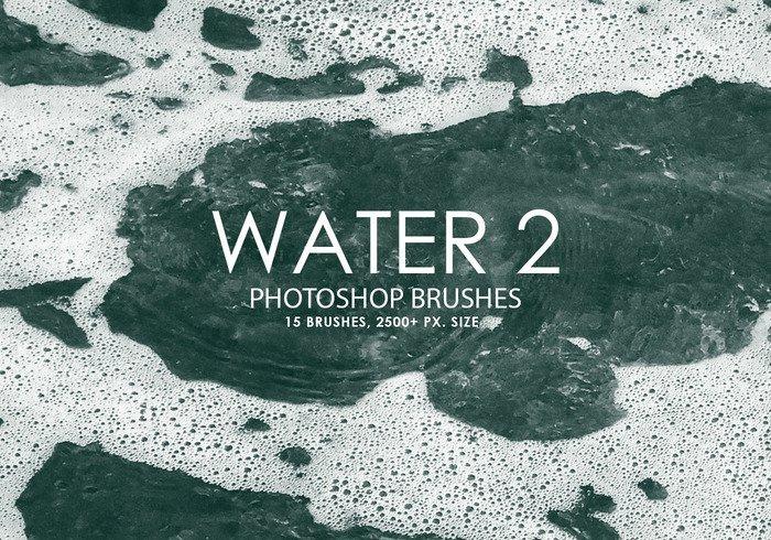 15 가지 물(water) 포토샵 브러쉬 - 15 Free Water Photoshop Brushes