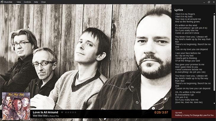 MusicBee 메인 화면-13
