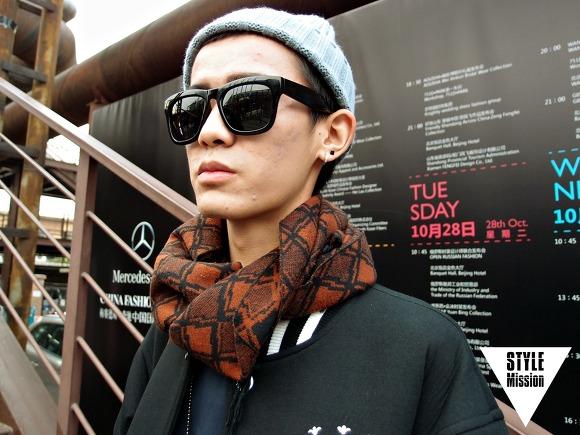 STYLE Mission Street snap in PEKING ! 〈北京国际时装周〉 〈15SS CHINA FASHION WEEK〉 李益君 (21. 자유직업)
