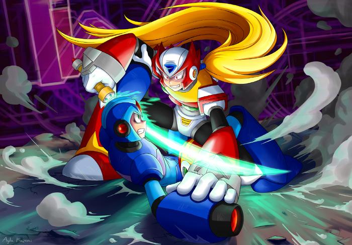 Megaman X - X vs Zero