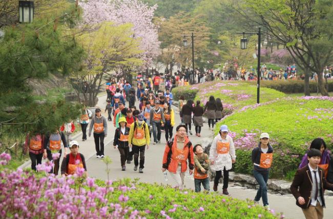 서울 명산 트레킹 이미지